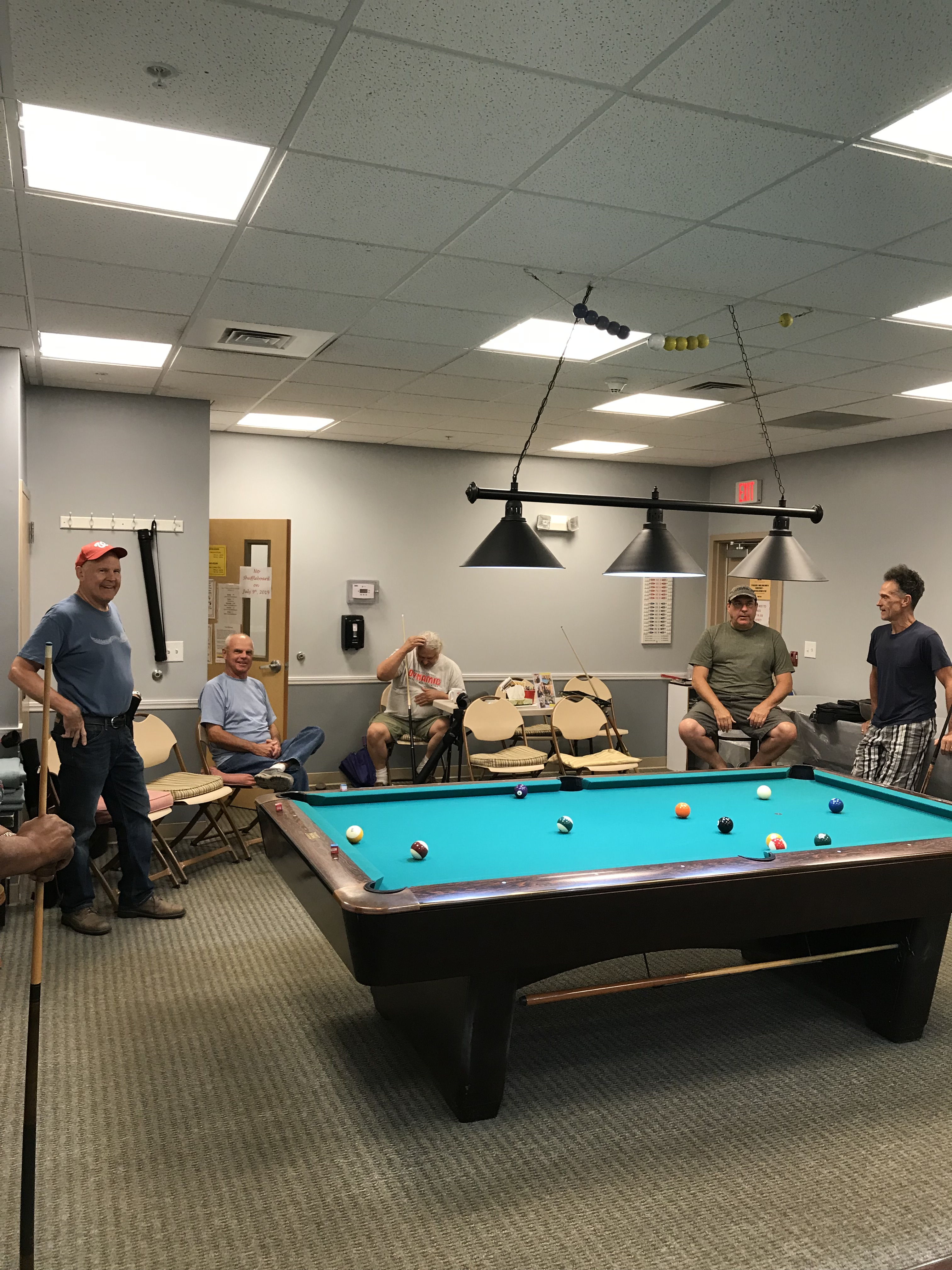 Billiard Leagues | Indian River Senior Center is located